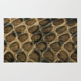 The skin of the serpent Rug