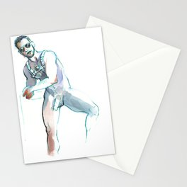 JESSE, Nude Male by Frank-Joseph Stationery Cards