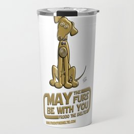 Frod0 the Sheltie: May the Furs Be With You (Bella) Travel Mug