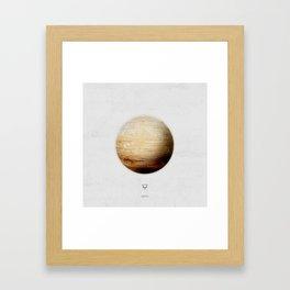 Element: Earth Framed Art Print