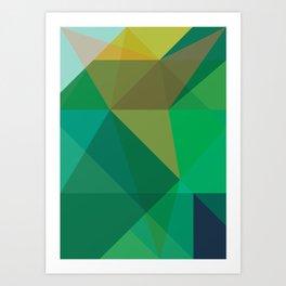 Minimal/Maximal 5 Art Print