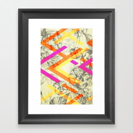Chevy Rose Framed Art Print