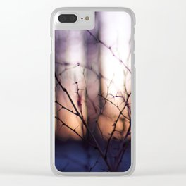 Thorns at Sunset Clear iPhone Case
