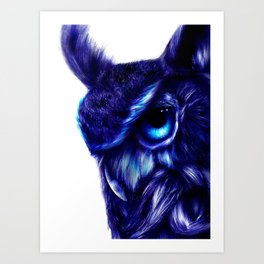 Crazy Owl By LegacyArt86 Art Print
