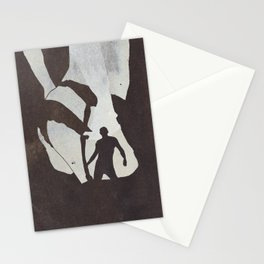 Her Body Comes Out In The Night  Stationery Cards