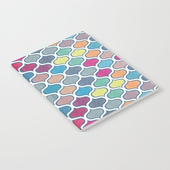 Watercolor Lovely Pattern VVX Notebook