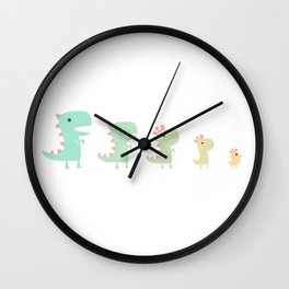 Evolution of a Chicken Wall Clock