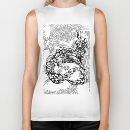 A Dragon from your Subconscious Mind #2 Biker Tank
