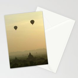 Above the Temples Stationery Cards