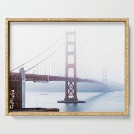 Golden Gate Bridge San Francisco Mood Serving Tray