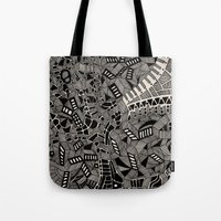 marina Tote Bags featuring - marina - by Magdalla Del Fresto