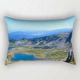 seven rila lakes Rectangular Pillow