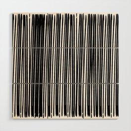 Black Ink   Japanese Atmospheres Wood Wall Art