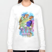 pixar Long Sleeve T-shirts featuring Disney Pixar Play Parade - Finding Nemo Unit by Joey Noble