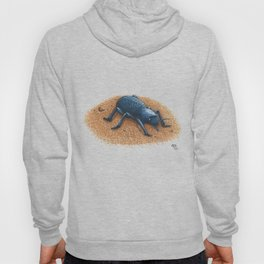 Blue Death Feigning Beetle Hoody