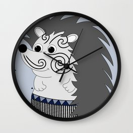 Mr Matuku (Grey) Wall Clock