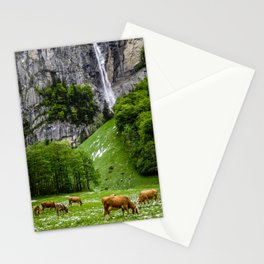 Life in Lauterbrunnen Stationery Cards