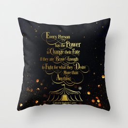 Caraval - Change Your Fate Throw Pillow