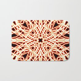 Flaming Chaos 10 Bath Mat