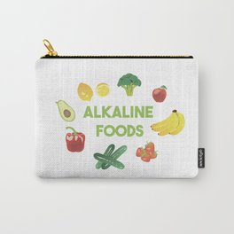 Alkaline Foods Healthy Diet Carry-All Pouch