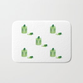 Cucumbers Bath Mat