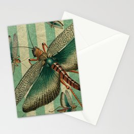 5 Grasshoppers Stationery Cards