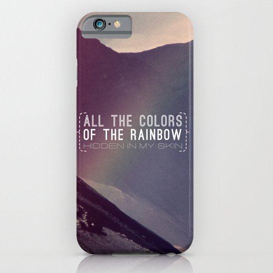 Rainbow iPhone & iPod Case
