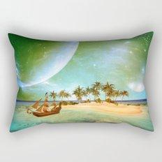 Fantasy seascape Rectangular Pillow
