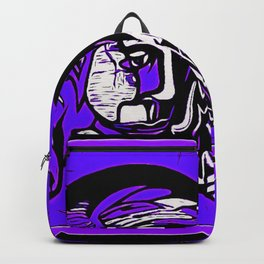 For Travis~His Purple dream Backpack