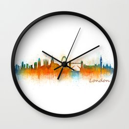London City Skyline HQ v2 Wall Clock