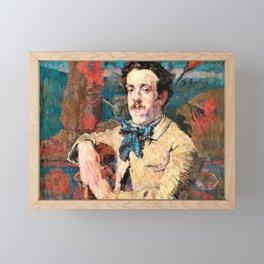 John Peter Russell - Fabian de Castro - Digital Remastered Edition Framed Mini Art Print