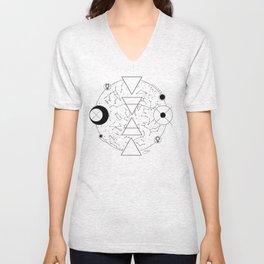 Celestial Alchemical Earth Unisex V-Neck