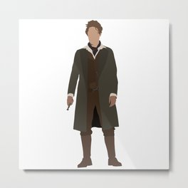 Eighth Doctor: Paul McGann Metal Print