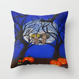 Halloween-6 Throw Pillow