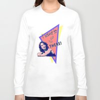 "30 rock Long Sleeve T-shirts featuring ""I want to go to there!"" (30 Rock) by Galit Zeierman"