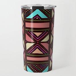 African No6 Coral Travel Mug