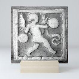 Cherub Architectural Salvage Mini Art Print