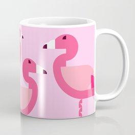 Geometric flamingo Coffee Mug