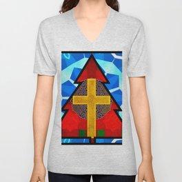Christ in Christmas 2 Unisex V-Neck