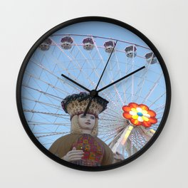 queen of the the prater Wall Clock