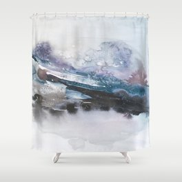the beauty of impermanence II Shower Curtain