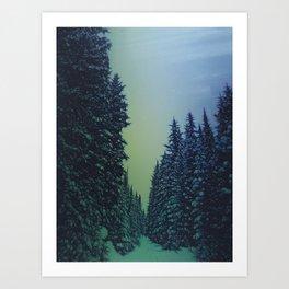 Dark Things Art Print