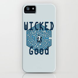 The Maze Runner - Wicked is Good iPhone Case