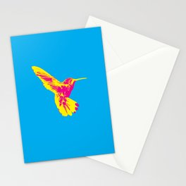 CMY Bird Stationery Cards