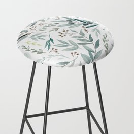 Eucalyptus pattern Bar Stool