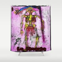 death Shower Curtains featuring Death  by RDsix3