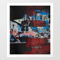 gotham Art Prints featuring Gotham by shaymultimedia