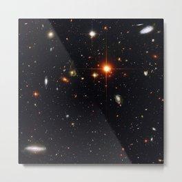 Field of Galaxies Metal Print
