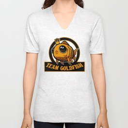 Team Goldfish Unisex V-Neck