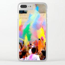 Holi Open Air Festival Berlin Clear iPhone Case